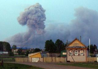 Взрывы в Пугачево. Фото: Татьяна ЛАПИНЕР.