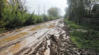 Ремонт дороги в Балезино