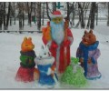 Конкурс снежных фигур в БАлезино