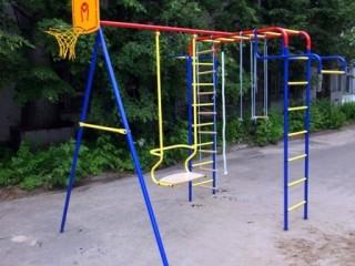 Детские площадки в БАлезино