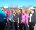 Сегодня прошел финал районных соревнований по русской лапте