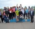 Команды призёры первенства Балезинского района по легкой атл