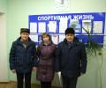 Команда Балезинского района по шахматам в составе Белослудц