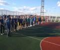 Команда юношей средней группы заняла 3 место в межрайонных с