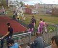 Сегодня в п.Игра проходит турнир по баскетболу Оранжевый мя