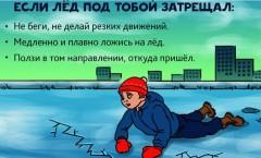 Не выходите на весенний лёд!Перед вскрытием рек, озер,