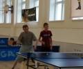 Начались соревнования по настольному теннису среди спортивны