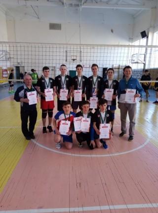 Прошло первенство Удмуртской Республики по волейболу среди ю