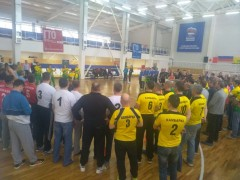 Итоги первого дня Кубка Минспорта УР по волейболу среди мужс