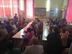 17 мая в п.Балезино прошел обучающий семинар по скандинавско