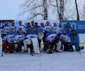 Поздравляем команду хоккеистов с бронзовыми медалями
