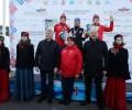 Сергей Ардашев, Владислав Азанов и Дина Некрасова на чемпион