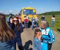 Селтинская земля встретила нашу команду на сельских играх.