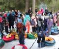 Фотоотчет с Зимнего дня скандинавской ходьбы выходного дня.