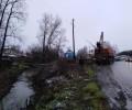 Сегодня продолжаются работы по расчистке русла реки Варсемки
