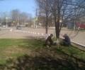 Вчера, 8 мая, силами рабочих по благоустройству и работников