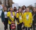 ✌️Наши волонтёры на Всероссийском фестивале ходьбы в г. Ижев