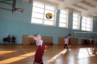 Cоревнования по волейболу в школе №5